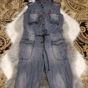 Only Denim Sleeveless Jumper SZ 26